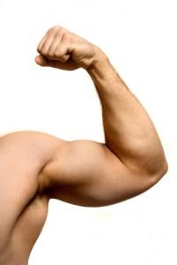 Muscle flexing