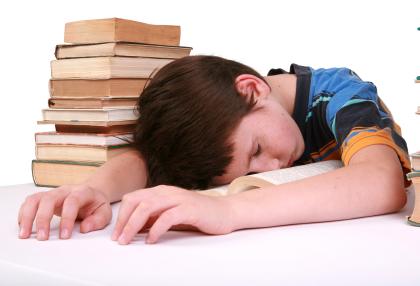 le manque du sommeil et les enfants